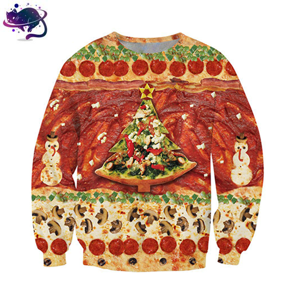 Festive Pizza Crew Neck - UltraRare
