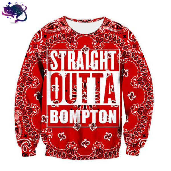 Straight Outta Bompton Crew Neck - UltraRare
