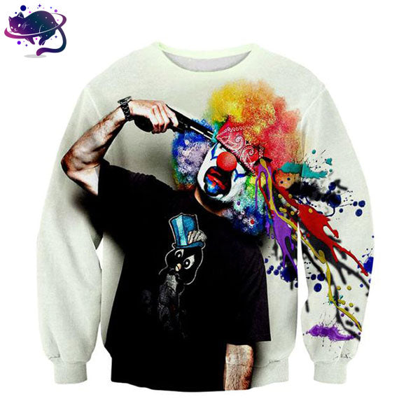 Suicidal Clown Crew Neck - UltraRare