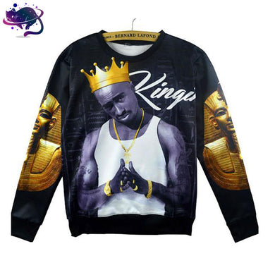 Tupac Is King Crew Neck