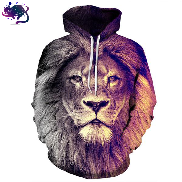 Faded Lion Hoodie - UltraRare