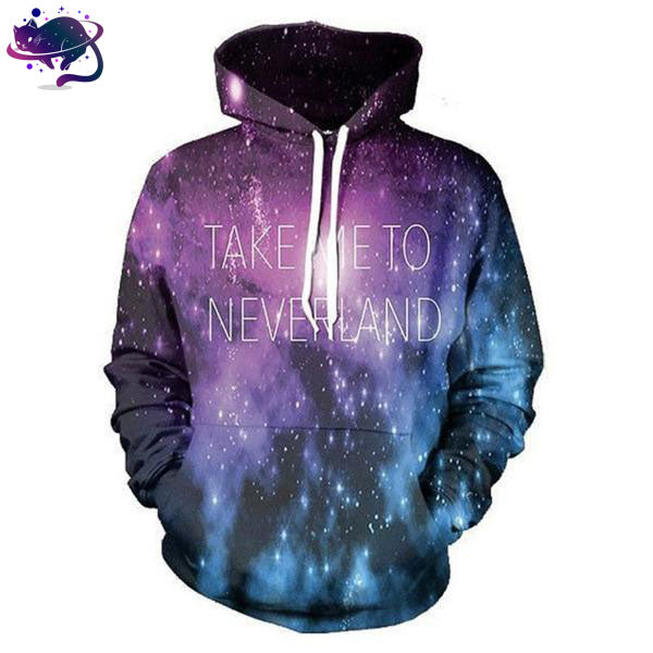 Take Me To Neverland Hoodie - UltraRare