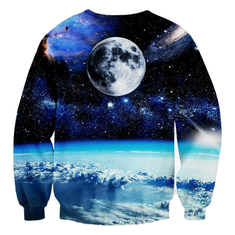 Cat Space Warrior Crew Neck - UltraRare