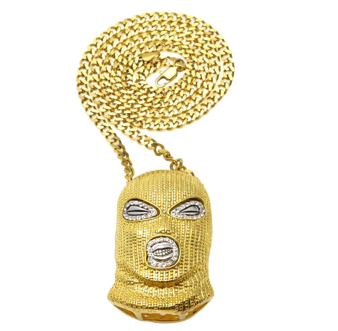 Iced Out Bank Robber Chain - UltraRare