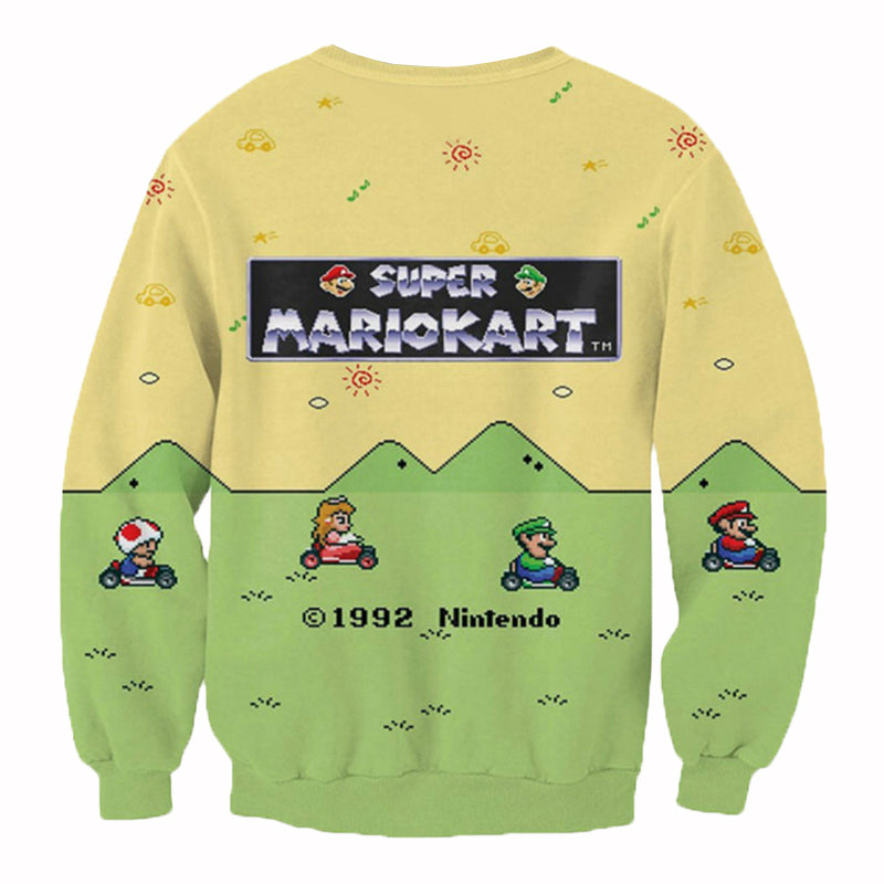 Super Mario Kart Crew Neck - UltraRare