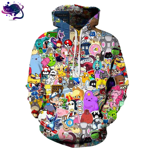 Cartoon Hoodie - UltraRare