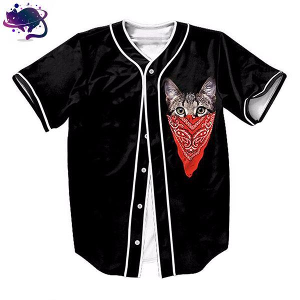 Red Bandana Cat Jersey - UltraRare