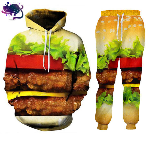 Cheeseburger Jumpsuit - UltraRare