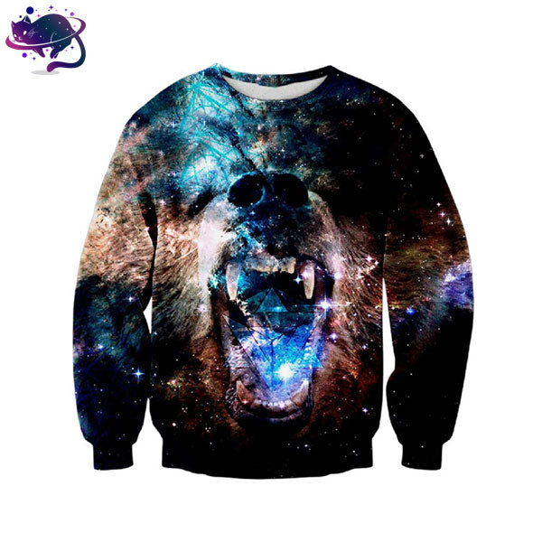 Ferocious Bear Crew Neck - UltraRare