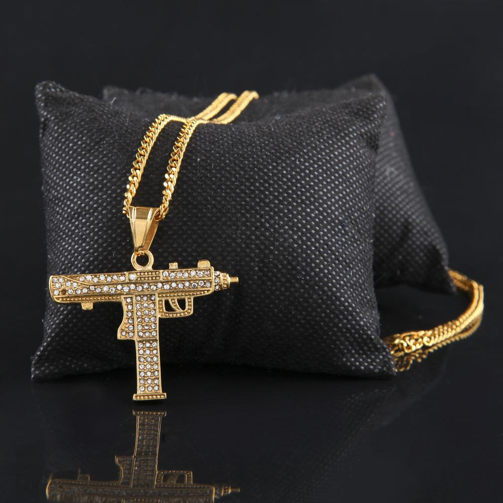 Iced Out Uzi Chain - UltraRare