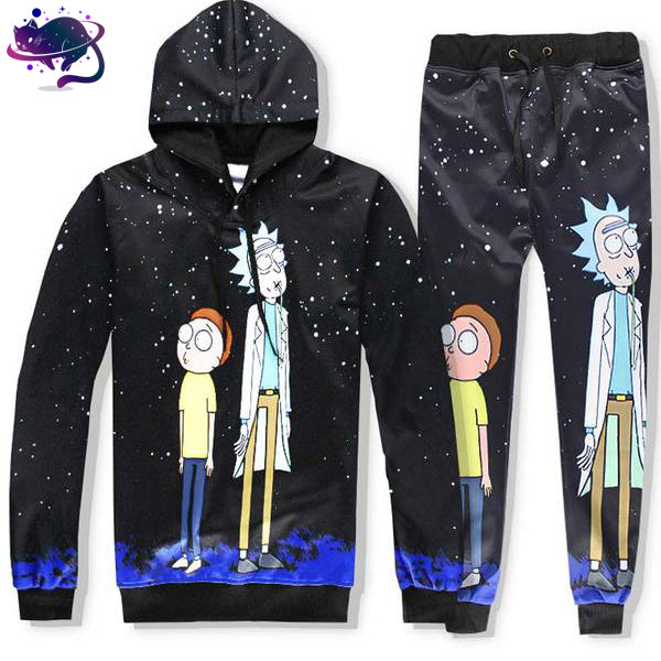 Space Rick and Morty Jumpsuit