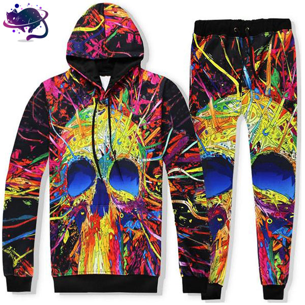 Trippy Skull Jumpsuit