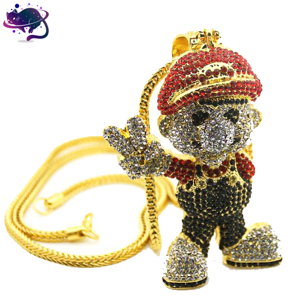 Iced Out Mario Chain