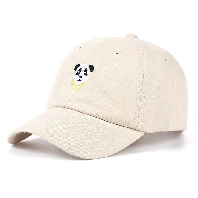 Panda Gold Chains Dad Hat - UltraRare