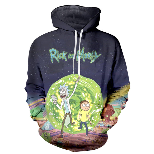 Rick & Morty Hoodie - UltraRare