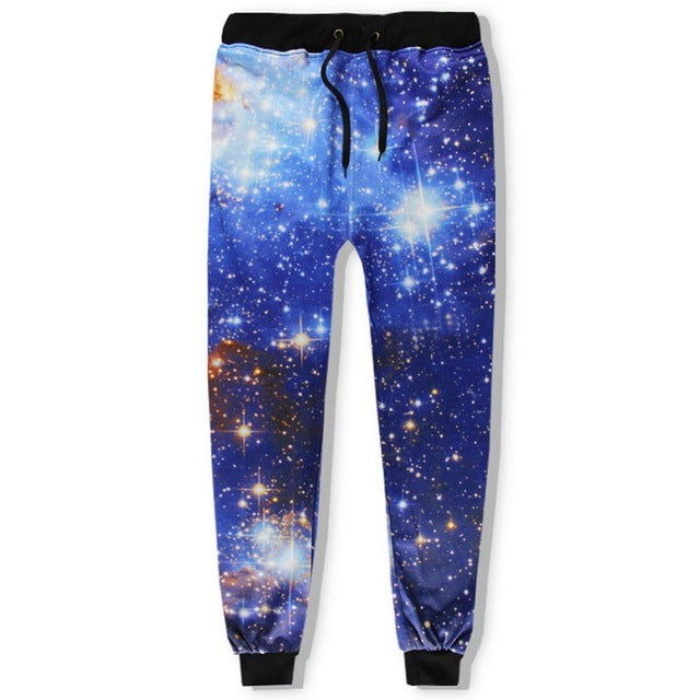 Blue Galaxy Jumpsuit