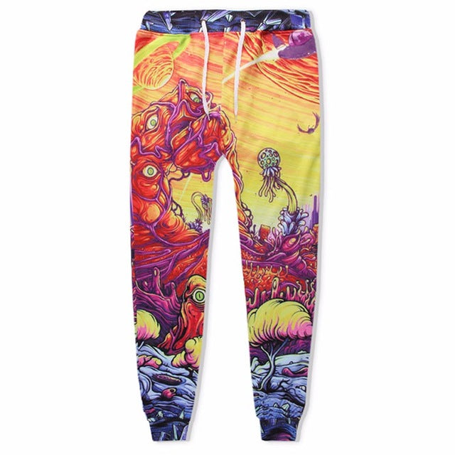Psychedelic Rick and Morty Jumpsuit