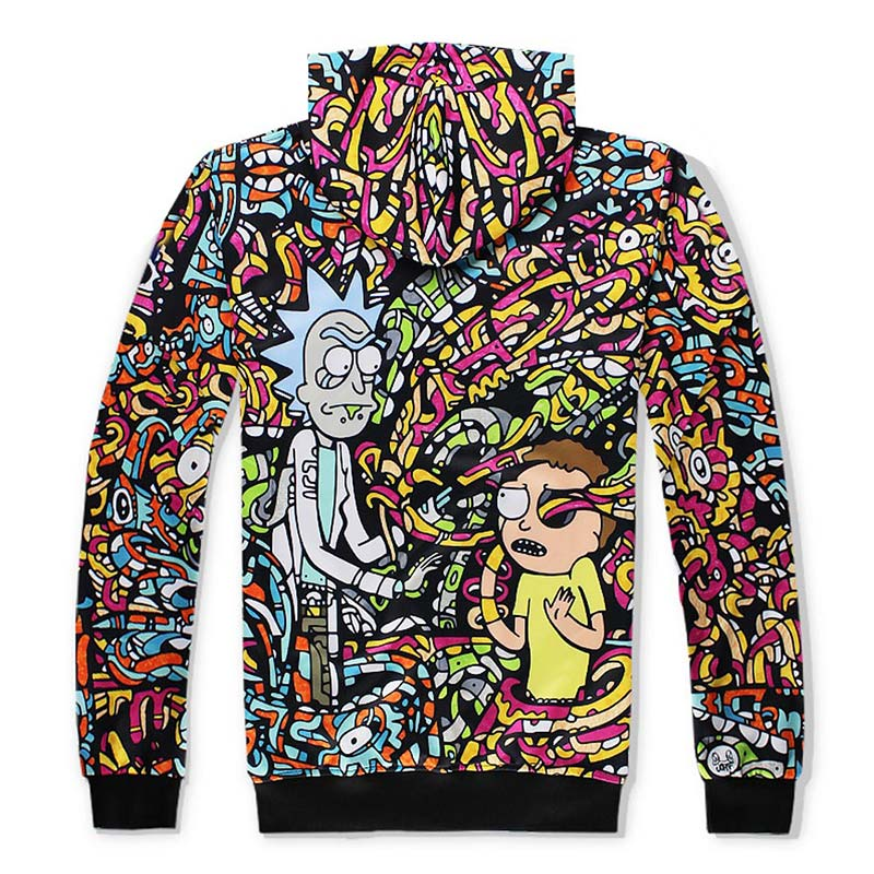 Colorful Rick and Morty Jumpsuit