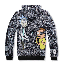 Black & White Rick and Morty Jumpsuit