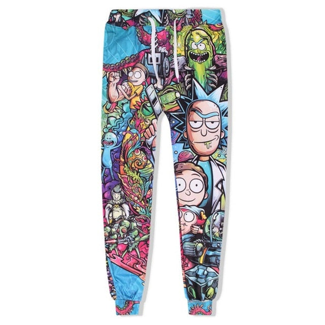Trippy Rick and Morty Jumpsuit