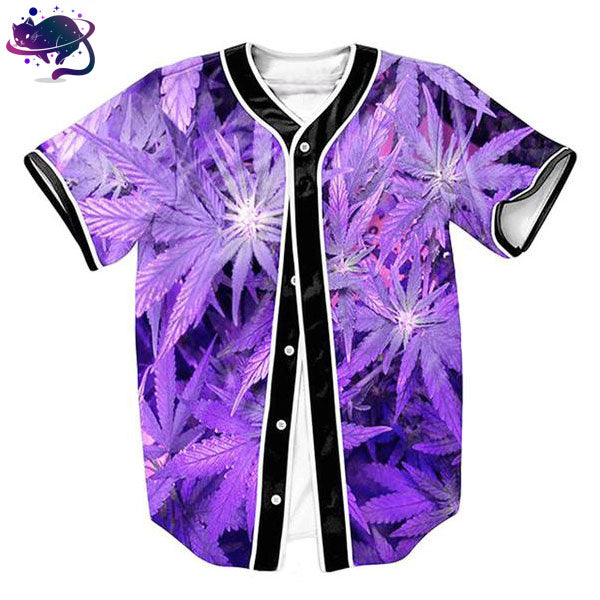 Purple Weed Jersey - UltraRare