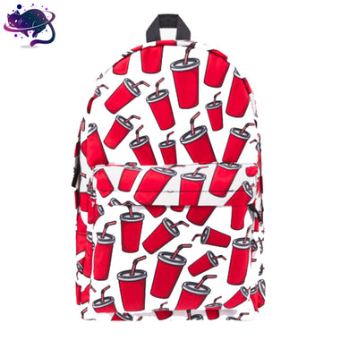 Red Cup Backpack