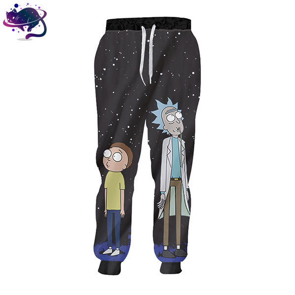 Rick And Morty Joggers - UltraRare