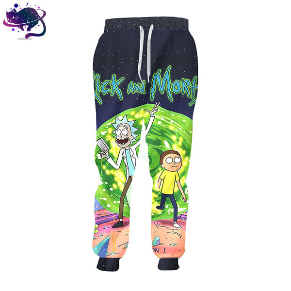 Rick & Morty Joggers - UltraRare