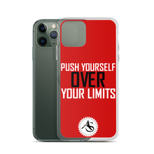 PUSH YOURSELF OVER YOUR LIMITS iPhone Case