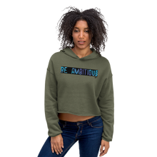 BE AMBITIOUS Crop Hoodie