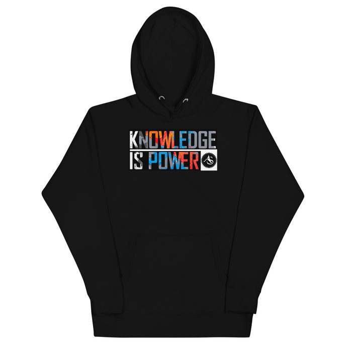 KNOWLEDGE IS POWER Hoodie