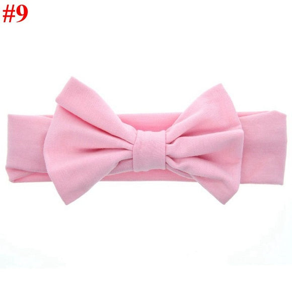 Large Bow Baby Headband