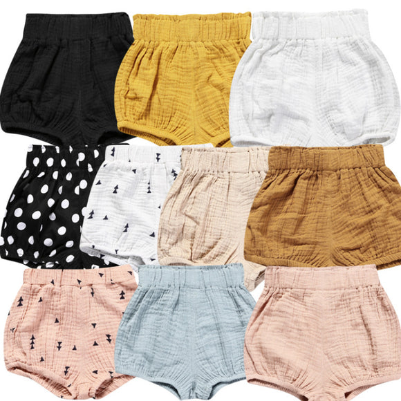 Linen Like Bloomer Shorts