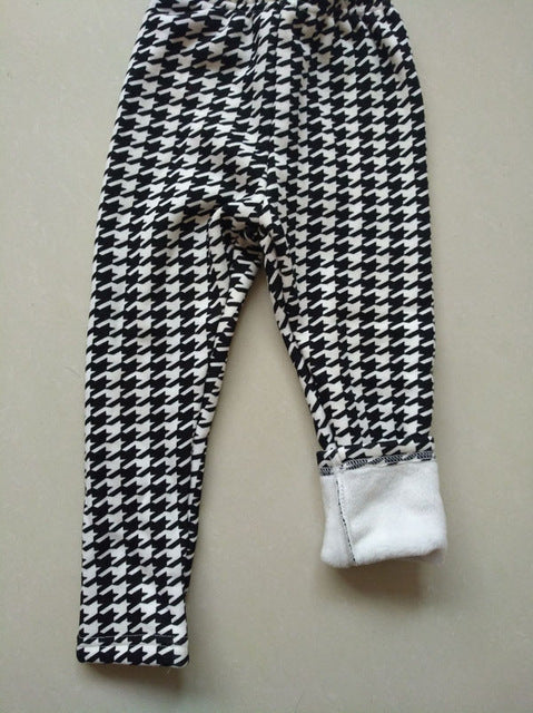 Checker Leggings