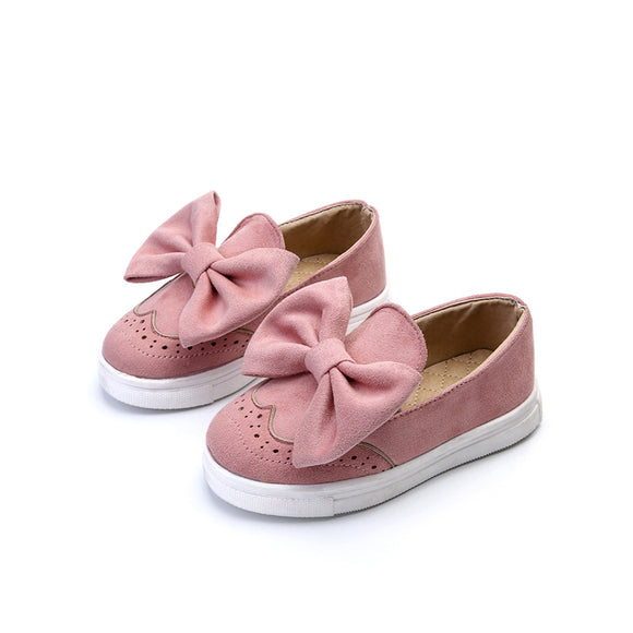 Big Bow Toddler Loafers