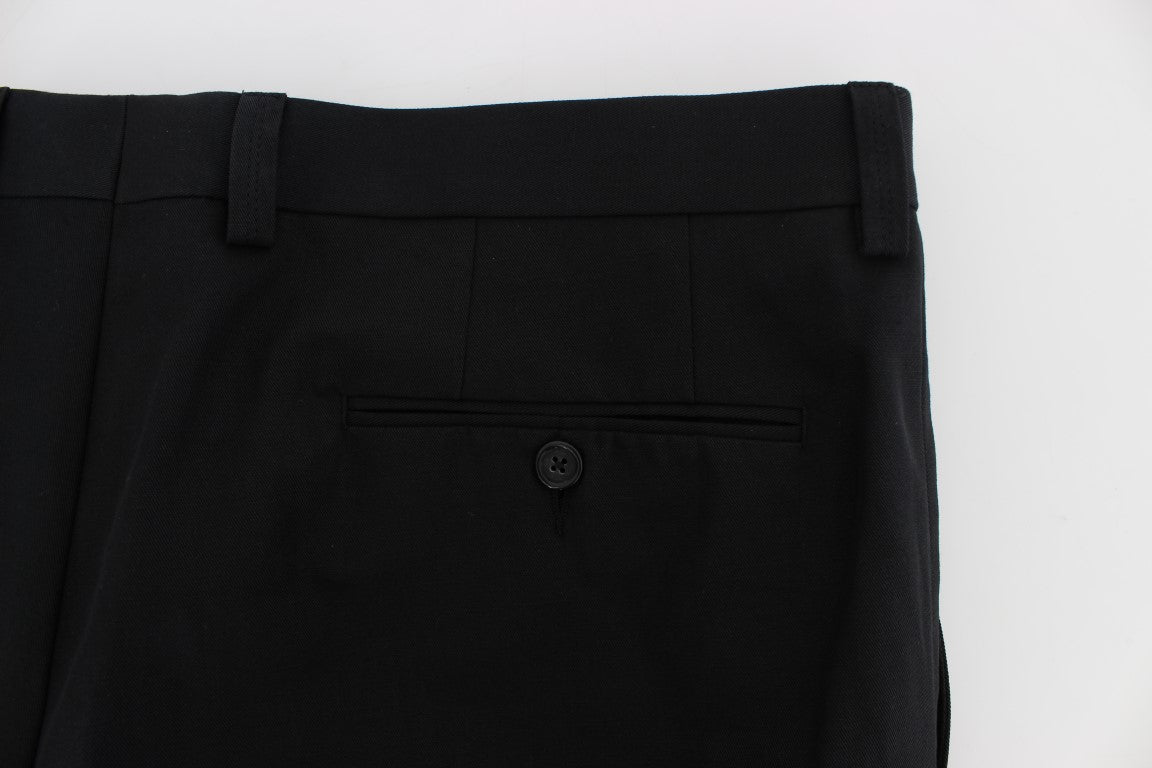 Black 3/4 Length Casual Pants