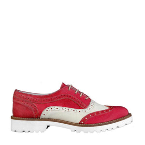 Ana Lublin MARINA_RED Lace up - Les Bleu Saphire