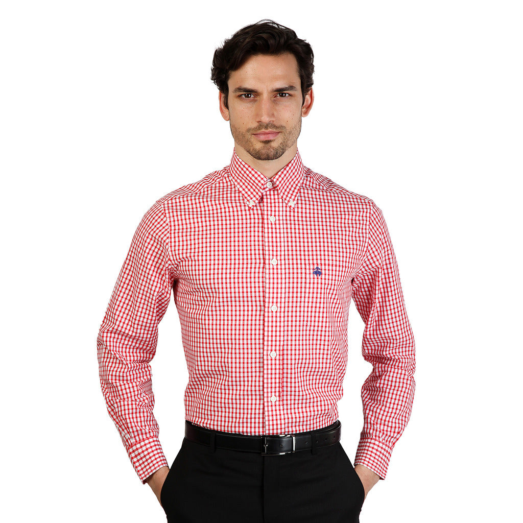 Brooks Brothers 100047261_ROSSO Shirts - Les Bleu Saphire
