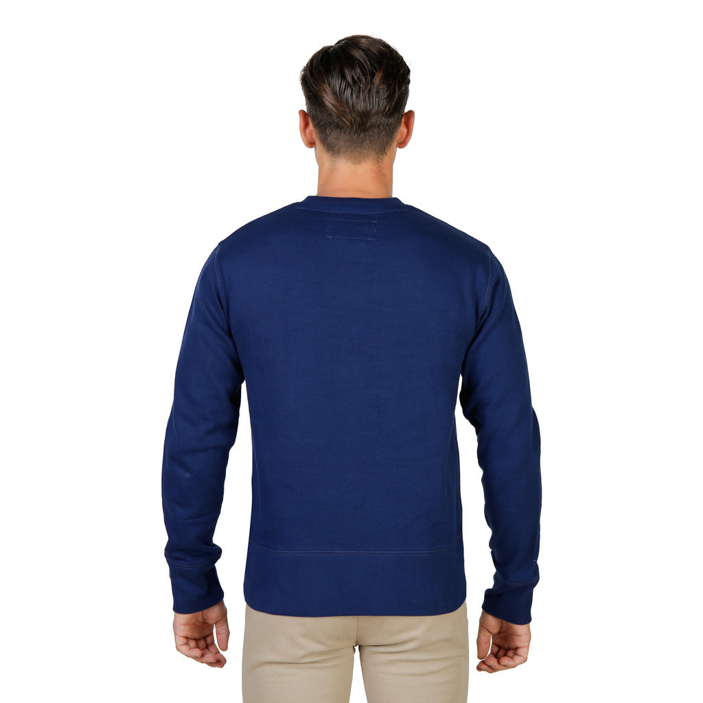 Oxford University OXFORD-FLEECE-CREWNECK-NAVY Sweatshirts - Les Bleu Saphire