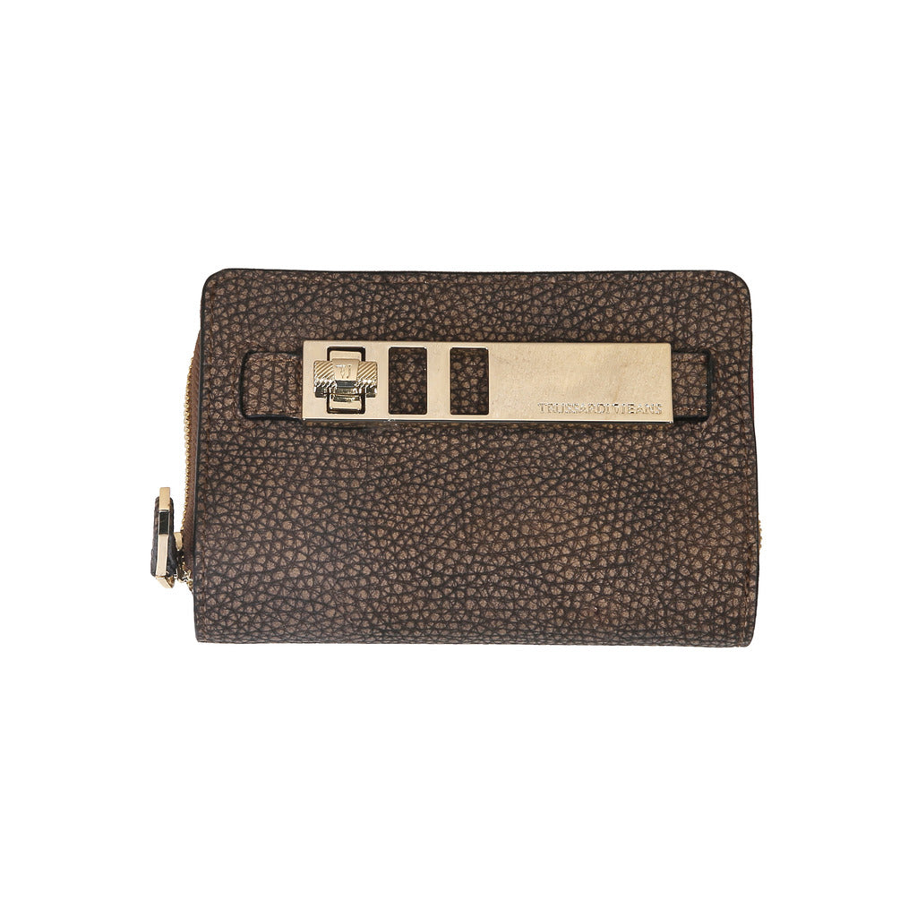 Trussardi 75P252_69_BROWN Wallets - Les Bleu Saphire