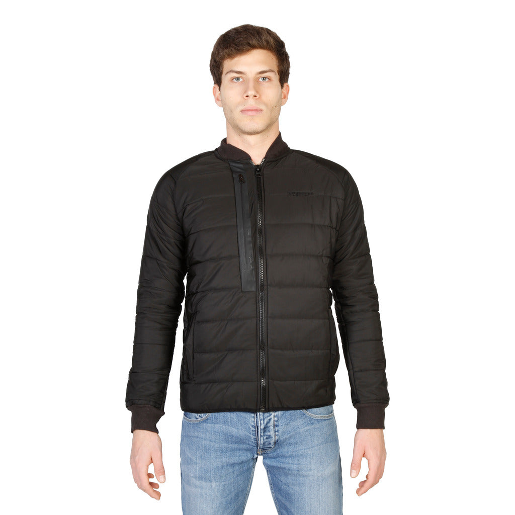 Geographical Norway Compact_man_black Jackets - Les Bleu Saphire