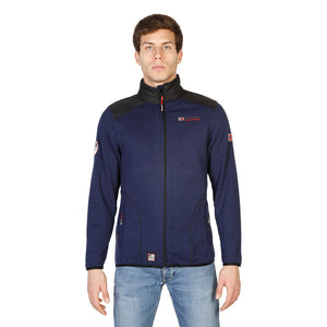 Geographical Norway Tuteur_man_navy_black Sweatshirts - Les Bleu Saphire