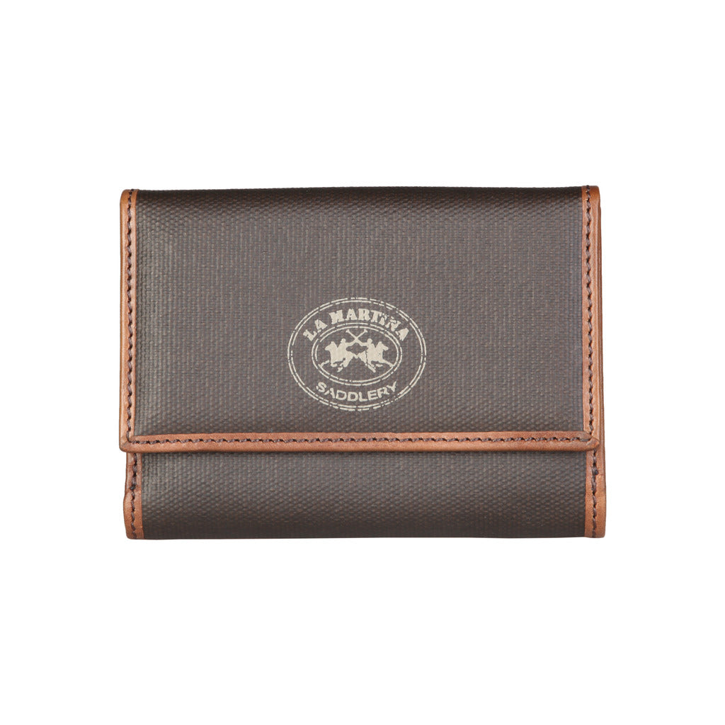 La Martina L23PW0037263_026_DKBROWN Wallets - Les Bleu Saphire