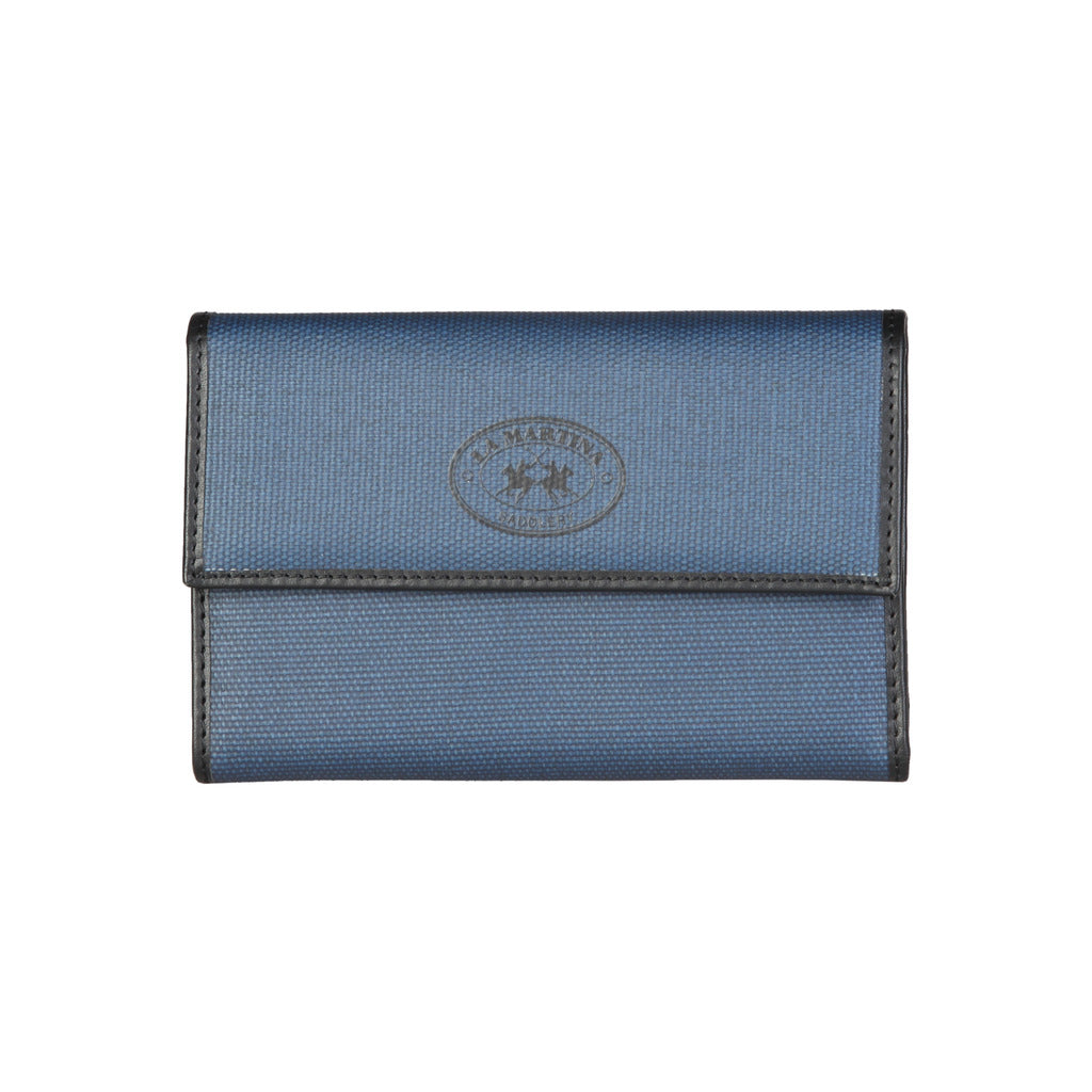 La Martina L33PW0600203_080_BLUE Wallets - Les Bleu Saphire