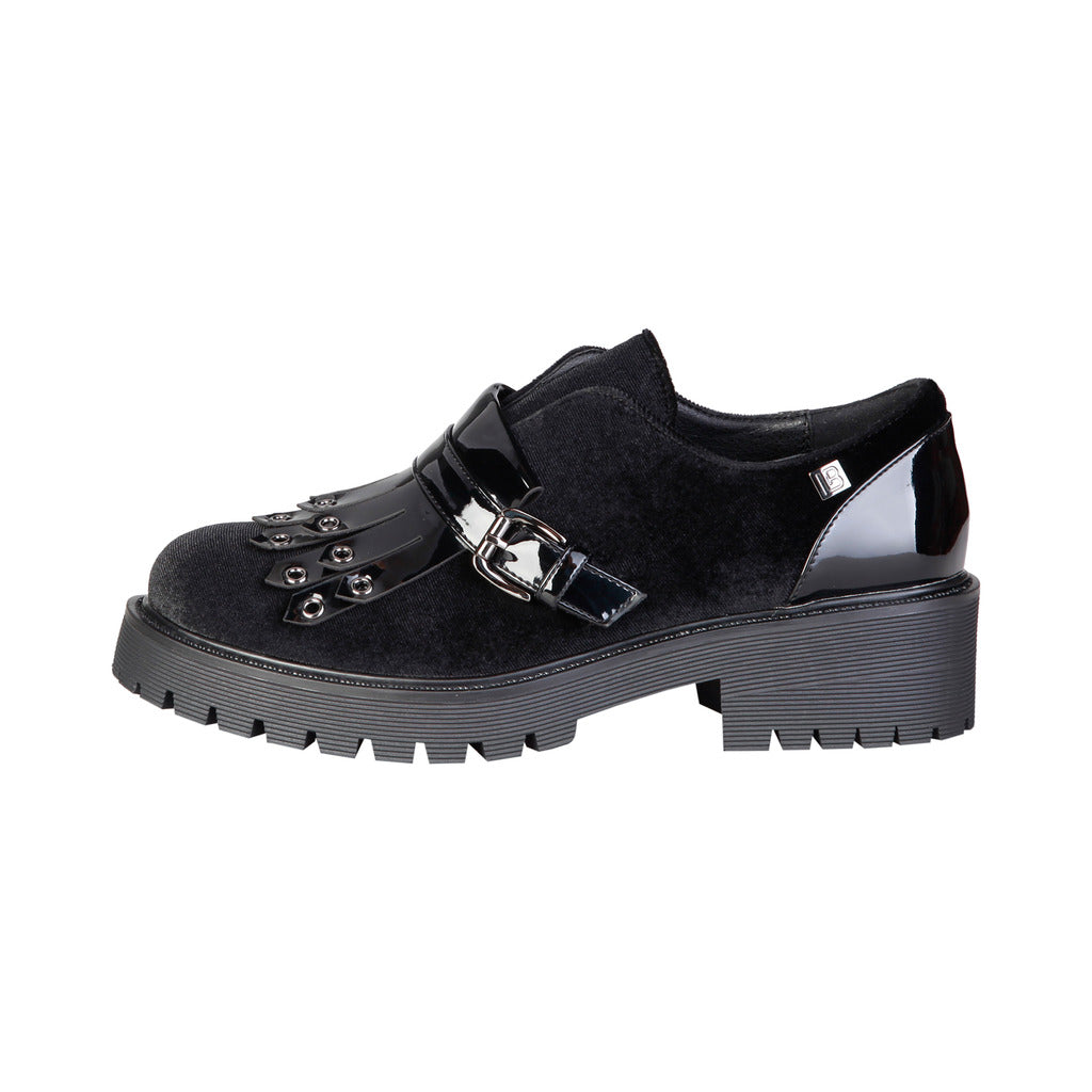 Laura Biagiotti 2254_BLACK Flat shoes - Les Bleu Saphire