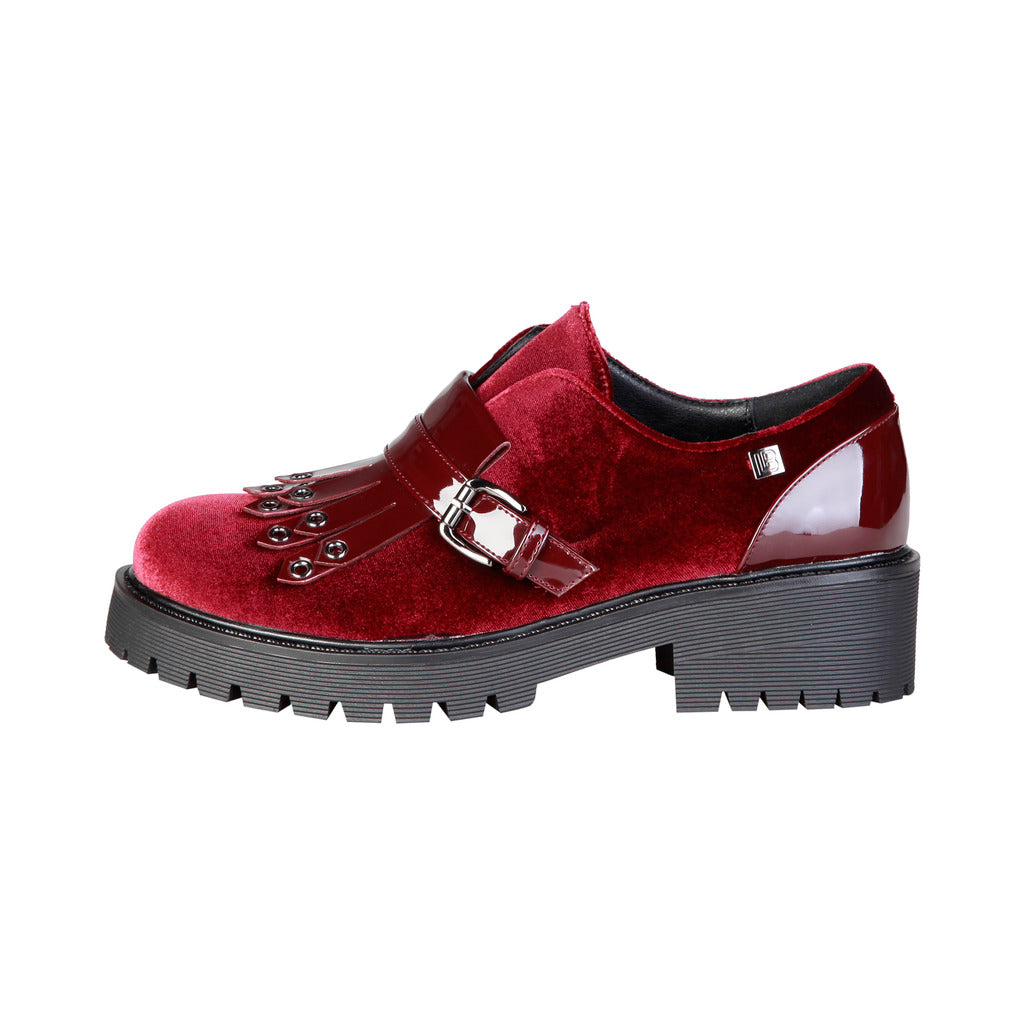 Laura Biagiotti 2254_BORDEAUX Flat shoes - Les Bleu Saphire
