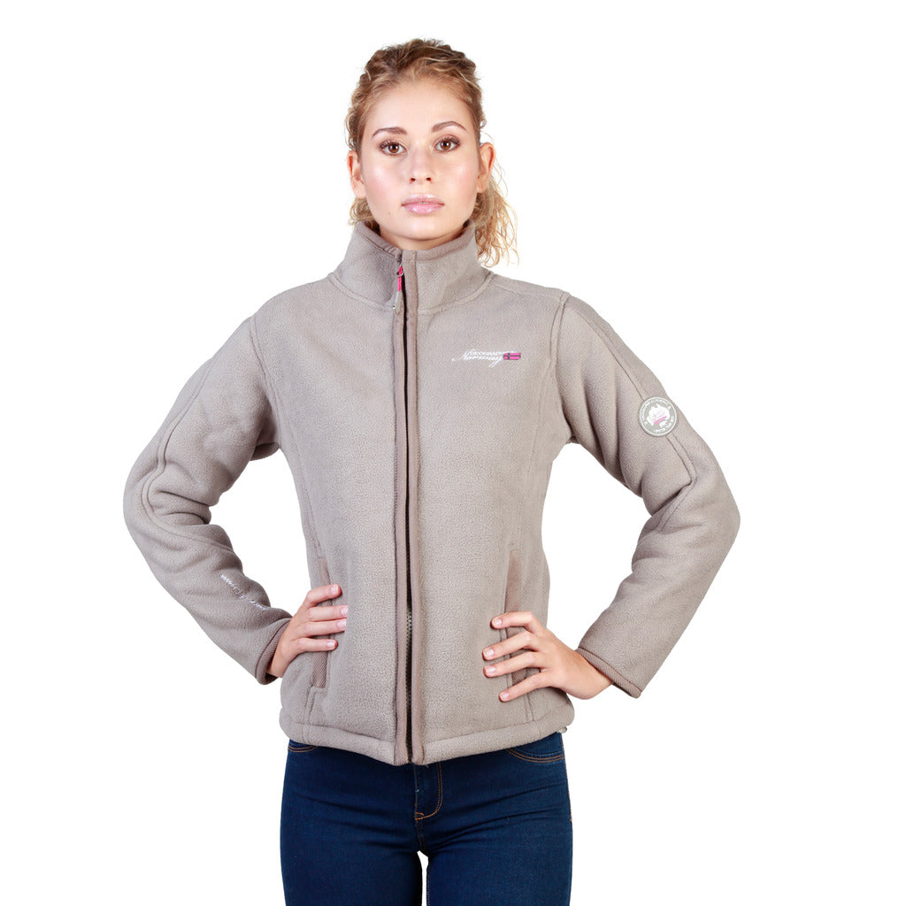 Geographical Norway Tapir_woman_taupe Sweatshirts - Les Bleu Saphire