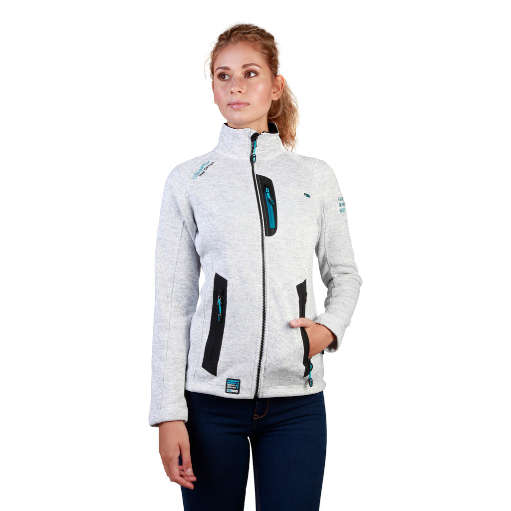 Geographical Norway Tazzera_woman_white Sweatshirts - Les Bleu Saphire