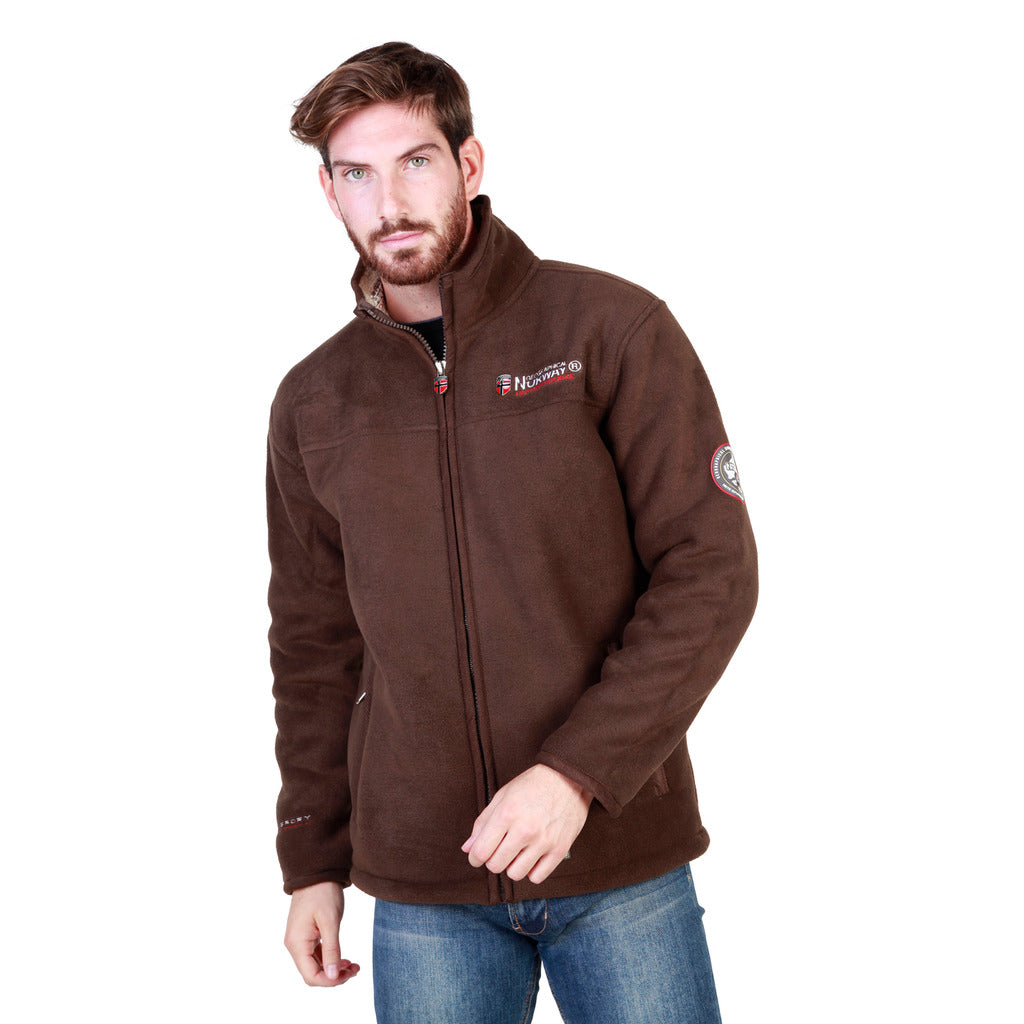Geographical Norway Usain_man_brown_beige Sweatshirts - Les Bleu Saphire