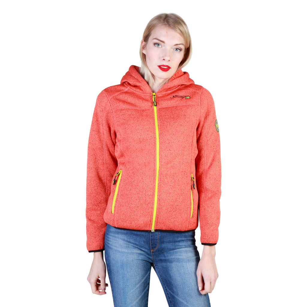 Geographical Norway Torche_woman_coral Sweatshirts - Les Bleu Saphire